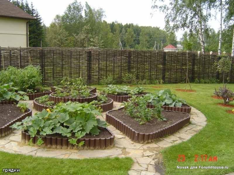 Как сделать правильный и красивый огород своими руками…