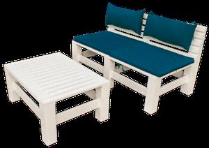 Мебель из поддонов: идеи и технологии