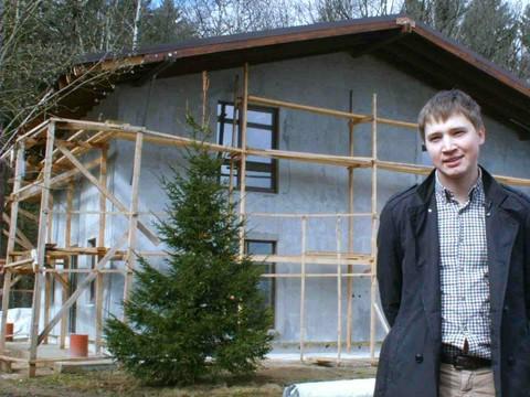 Дома из газоблока в стиле шале, стройка своими руками