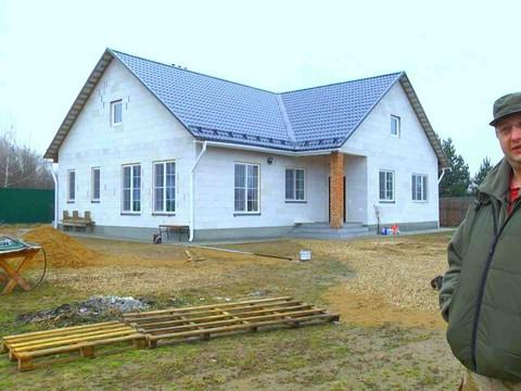 Рациональный одноэтажник из газобетона: конструктив, планировка, этапы строительства