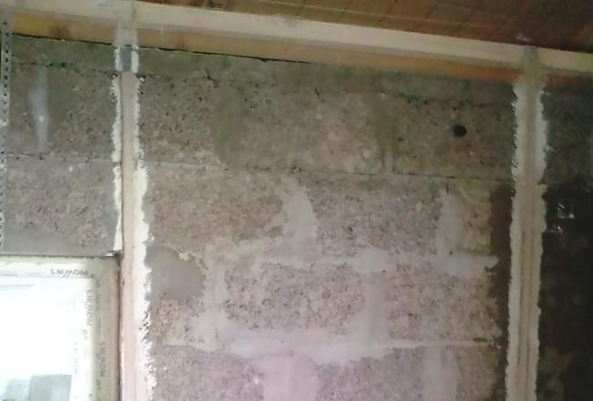 Как я построил своими худыми руками дом из керамзитоблока и с открытым потолком (обзор, видео)