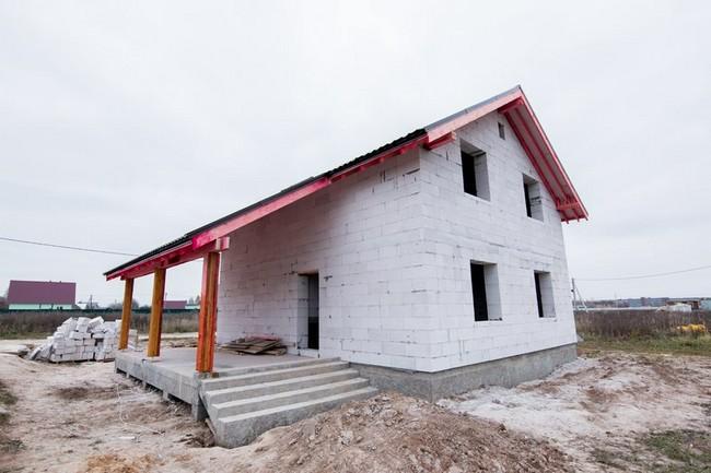 можно проекты домов из инси блоков фото дорогие бюджетные