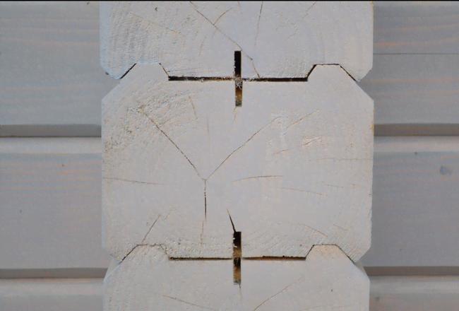 О материале для деревянного дома.