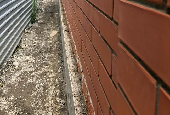 Стены и верхний пояс.